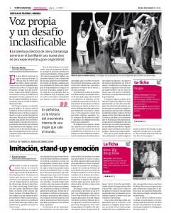 30. Tiempo Argentina - Bossi Big Bang Show  - 03-03-2014