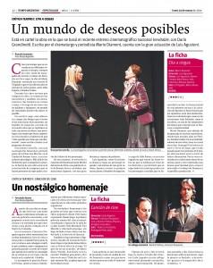 31. Tiempo Argentina - Cita a ciegas  - 24-03-2014
