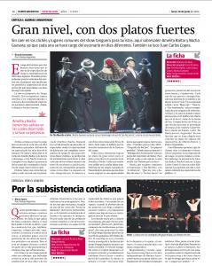 35. Tiempo Argentina - Glorias argentinas - 16-06-2014
